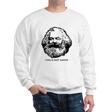 Marx Not Santa Sweatshirt
