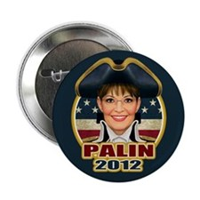 """Colonial Palin 2.25"""" Button (10 pack)"""