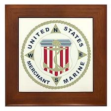 United States Merchant Marine Emblem (USMM) Framed