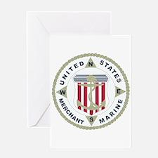 United States Merchant Marine Emblem (USMM) Greeti