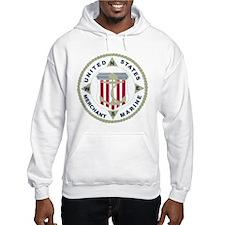 United States Merchant Marine Emblem (USMM) Jumper Hoody