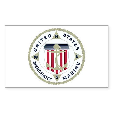 United States Merchant Marine Emblem (USMM) Sticke