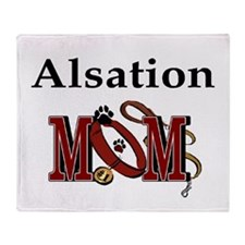 Alsation Mom Throw Blanket