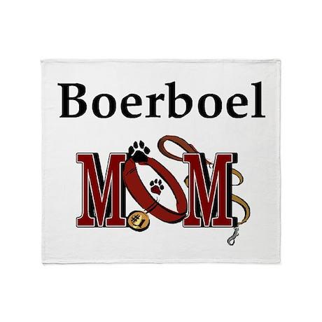 Boerboel Mom Throw Blanket