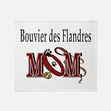 Bouiver des Flandres Throw Blanket