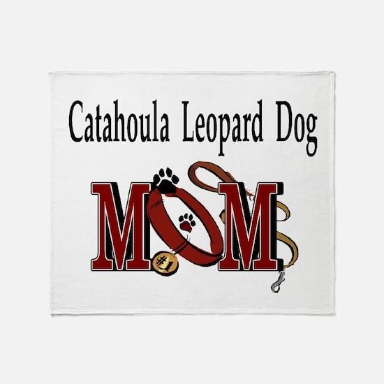 Catahoula Leopard Dog Throw Blanket