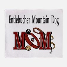 Entlebucher Mountain Dog Throw Blanket