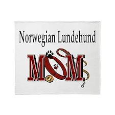 Norwegian Lundehund Throw Blanket