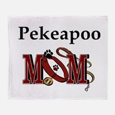Pekeapoo Gifts Throw Blanket