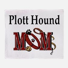 Plott Hound Mom Throw Blanket