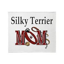 Silky Terrier Mom Throw Blanket