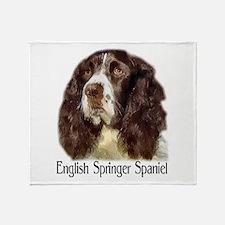English Springer Spaniel Gift Throw Blanket