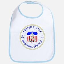 United States Maritime Service Emblem Bib