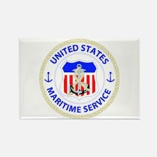 United States Maritime Service Emblem Rectangle Ma