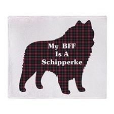 BFF Schipperke Throw Blanket