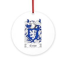 Crewe Ornament (Round)