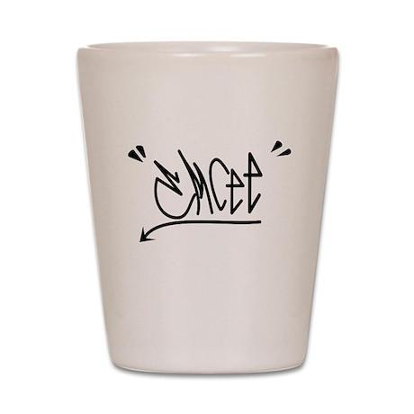 Emcee Graffiti Tee Shot Glass