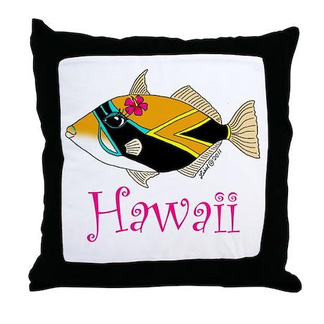 Humu Throw Pillow