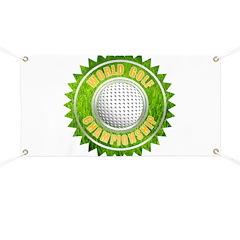 World Golf Championship Ribbo Banner