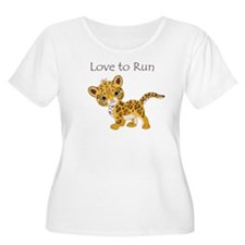 Love to Run Cheetah T-Shirt