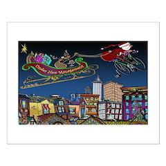 Santa Under New Management Posters
