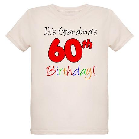 It's Grandma's 60th Birthday Organic Kids T-Shirt