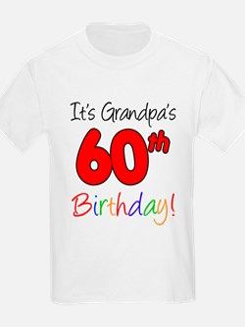 It's Grandpa's 60th Birthday T-Shirt