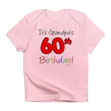 It's Grandpa's 60th Birthday Infant T-Shirt
