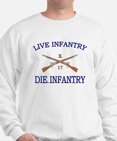 1st Bn 17th Infantry Sweatshirt