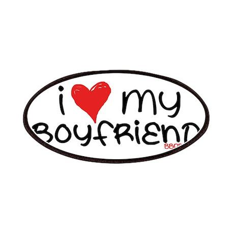 I Heart My Boyfriend Patches