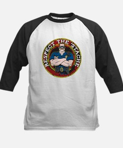Respect the 'Stache Police Officer 2 Tee