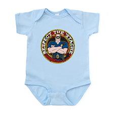 Respect the 'Stache Police Officer 2 Infant Bodysu