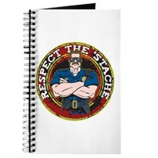 Respect the 'Stache Police Officer 2 Journal