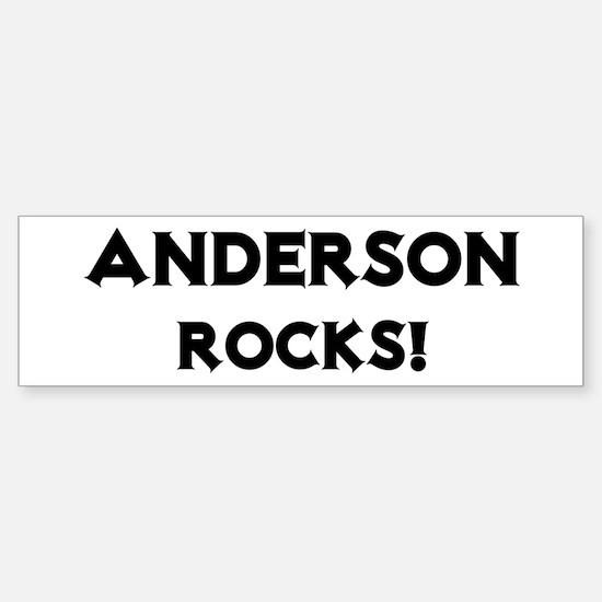 Anderson Rocks! Bumper Bumper Bumper Sticker