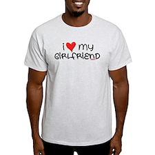 I Heart My Girlfriend T-Shirt