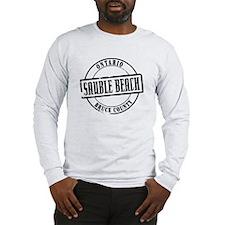 Sauble Beach Title Long Sleeve T-Shirt
