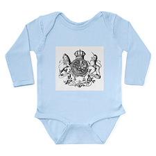 Heraldry Long Sleeve Infant Bodysuit