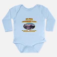Nu-Pike Amusement Park Long Sleeve Infant Bodysuit