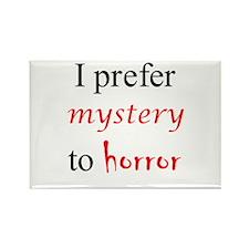 CastleTV Prefer Mystery to Horror Rectangle Magnet
