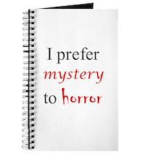 CastleTV Prefer Mystery to Horror Journal