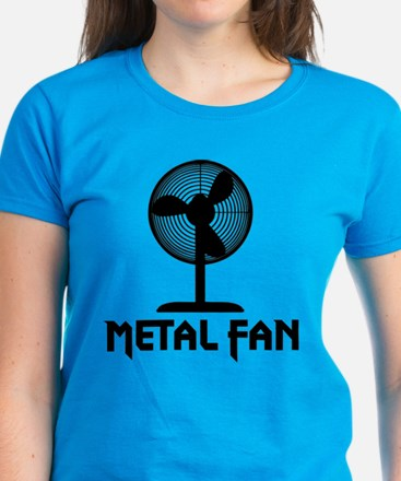 Metal Fan Women's Dark T-Shirt