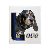 Bluetick coonhound Blankets