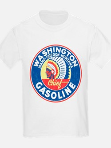Washington Chief Gasoline T-Shirt