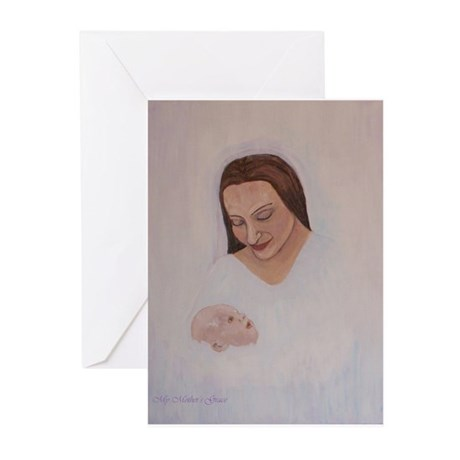 Madonna of the Snowfall Greeting Cards (Pk of 10)
