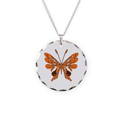 'Butterfly Tattoos Necklace