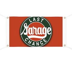 Last Chance Garage Banner