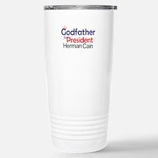 Herman Cain 2012 Travel Mug
