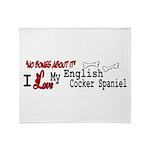 NB_English Cocker Spaniel Throw Blanket