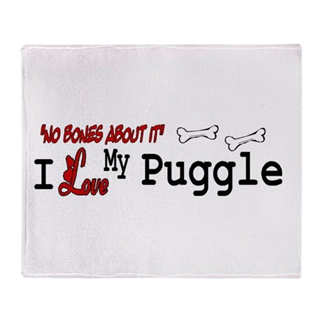 Puggle Gifts Throw Blanket