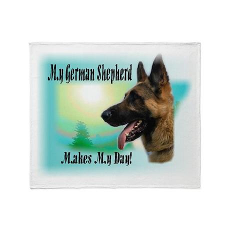 German Shepherd Gifts Throw Blanket